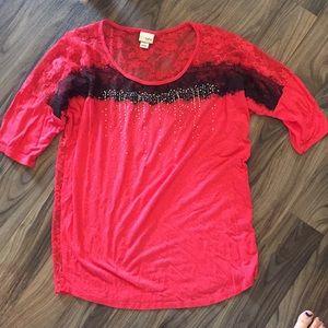 Red Daytrip shirt